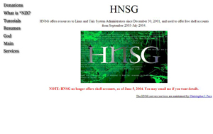 Hnsg.net back in the day