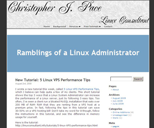Ramblings of a Linux Administrator